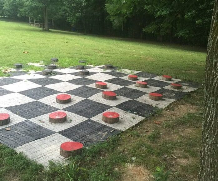 Checkers at Sleeping Bear Retreat