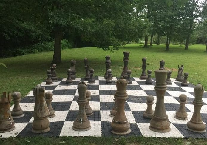 Chess at Sleeping Bear Retreat