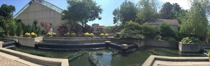 Foellinger-Freimann Botanical Conservatory rooftop