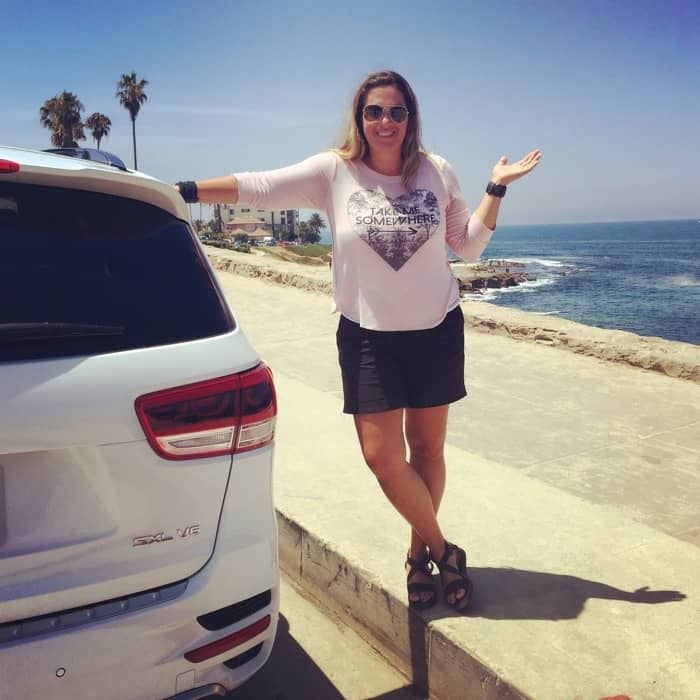 Kia Sorento at La Jolla