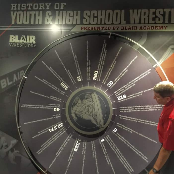 National Wrestling Hall of Fame 16