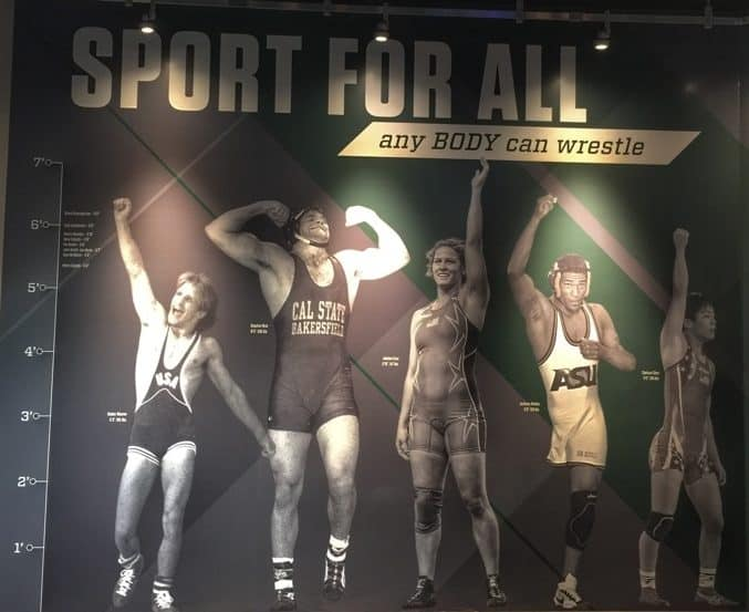 National Wrestling Hall of Fame 21