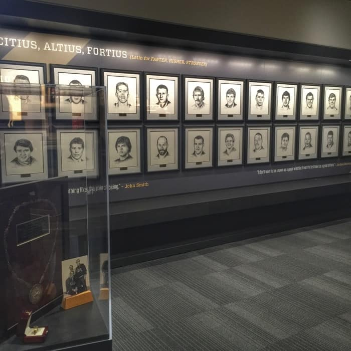 National Wrestling Hall of Fame 27