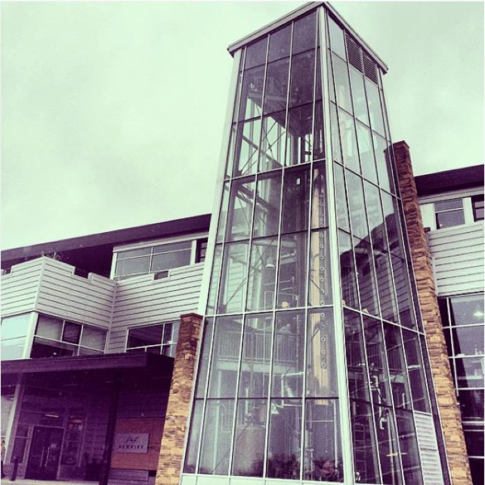 New Rill Distillery in Newport