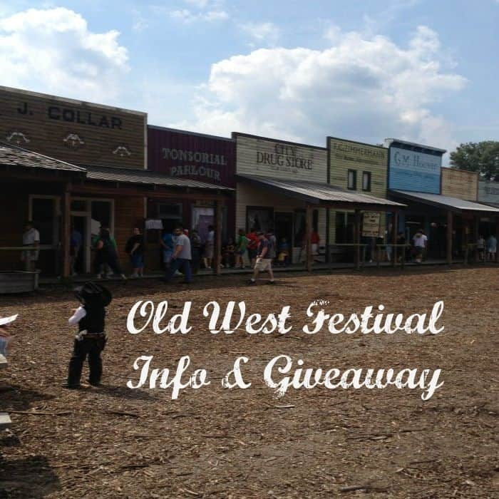 Old West Fest Info and Giveaway