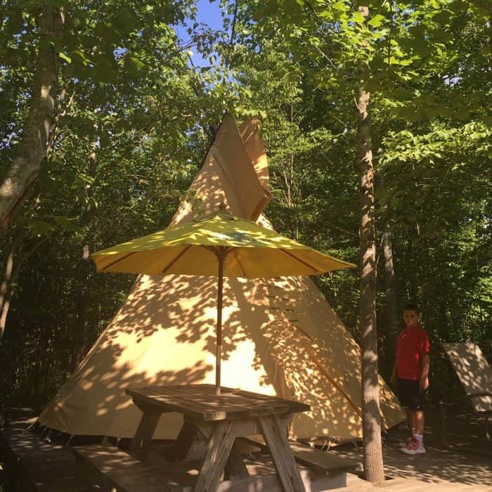 Sleeping Bear Retreat tepee