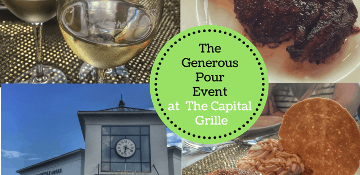 The Generous Pour Event at The Capital Grille