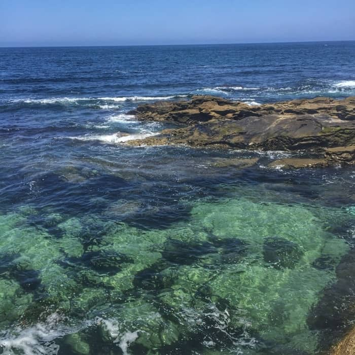 ocean at La Jolla