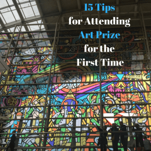 15 Tips for Attending Art Prize for the First Time