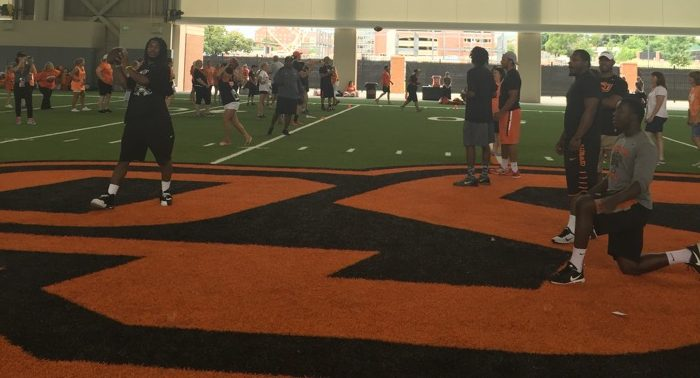 Football 101 at Oklahoma State University
