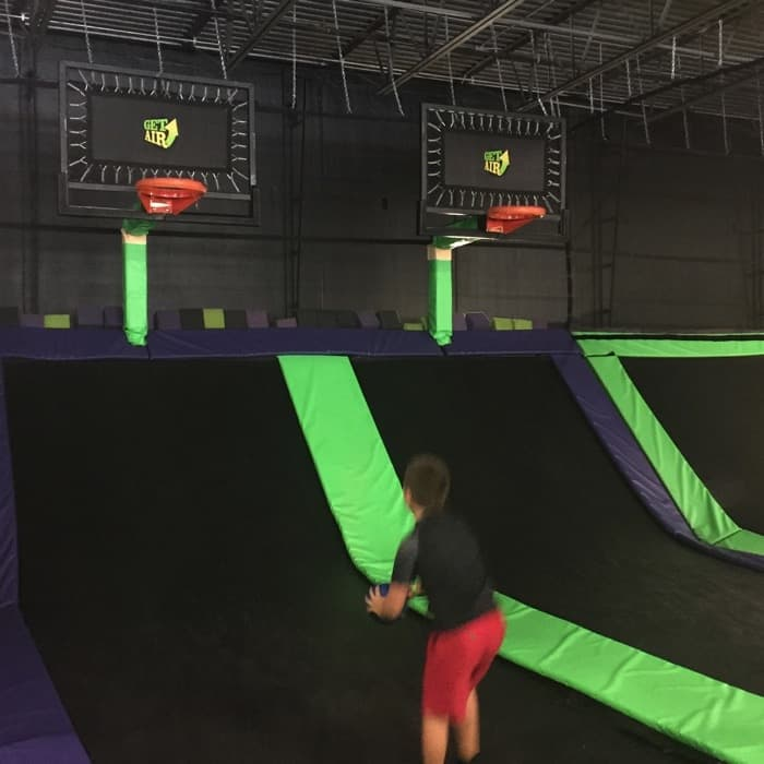 A fun way to get exercise at Get Air Trampoline Park - Adventure Mom