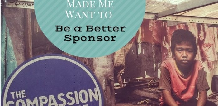 Why The Compassion Experience Made Me Want to Be a Better Sponsor