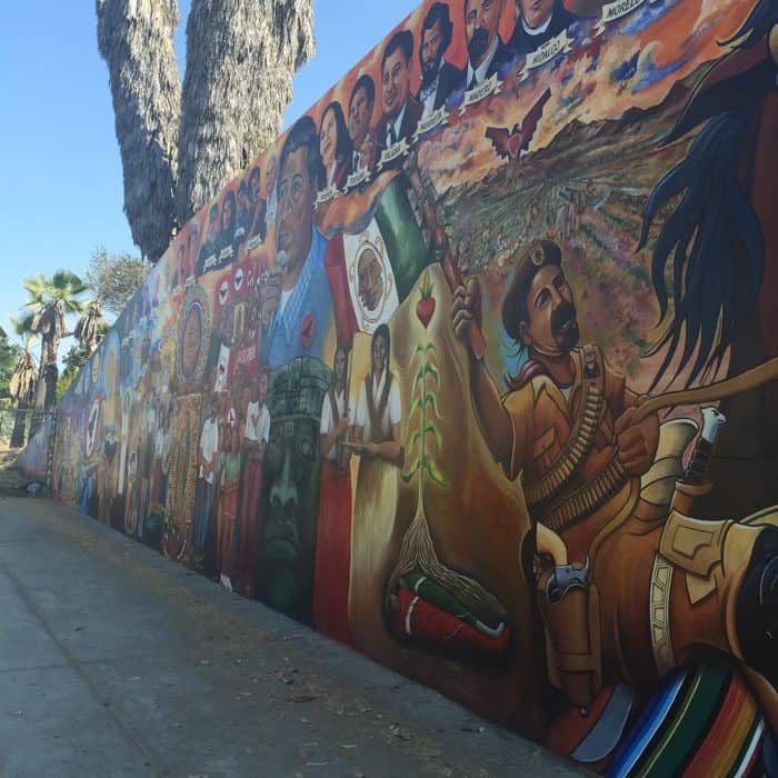 How to see a lot of san diego in a little time adventure mom for Mural chicano