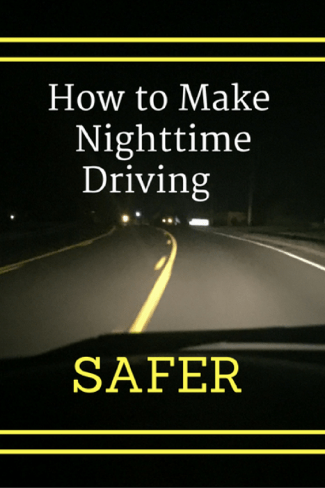 How to Make Nighttime Driving Safer