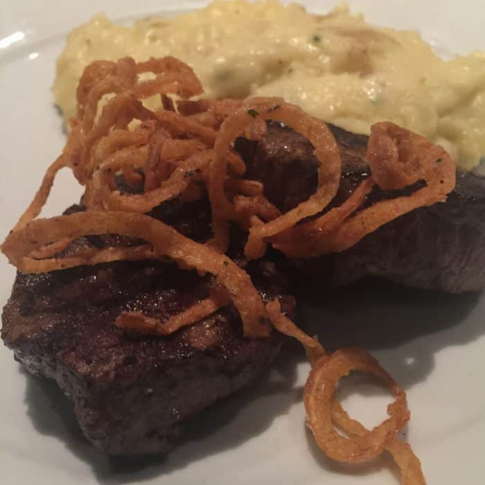 The Twin Center-Cut Filet Mignon Medallions from City Square Steakhouse in Wooster, OH