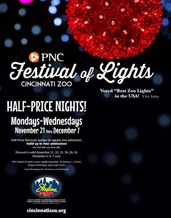 How to Save Money on Festival of Lights Admission