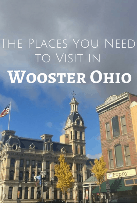 The Places you need to visit in Wooster Ohio