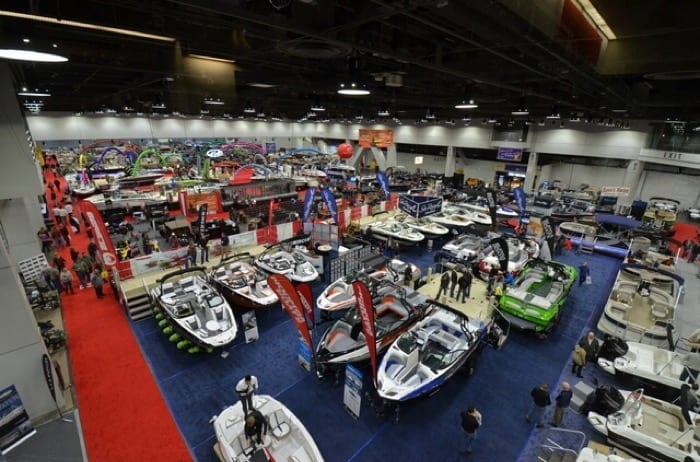 Vacation Dreaming At The Cincinnati Travel Sports Boat Show - Car show duke energy center