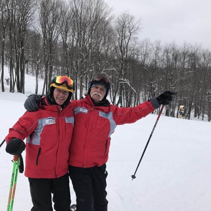 ski instructors at Hidden Valley Resort