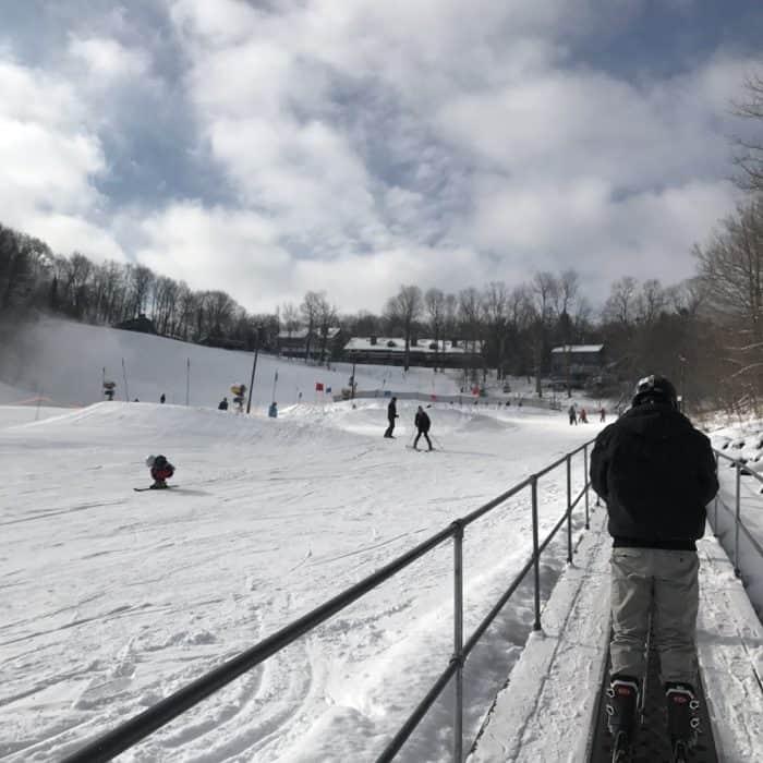Fun Based Learning Techniques at ski school Hidden Valley Resort