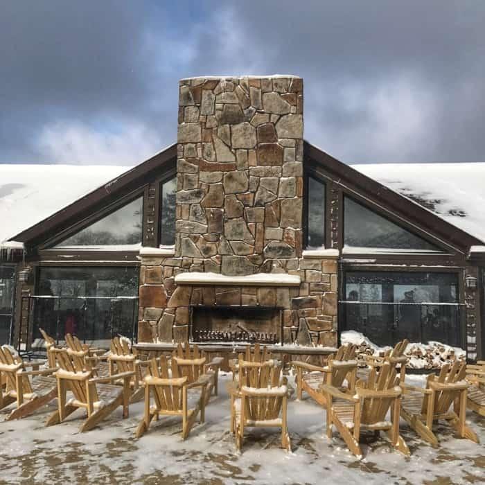 lodge for Laurel Mountain Ski Resort