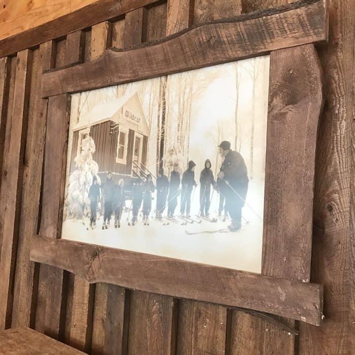 old photograph at Laurel Mountain Ski Resort