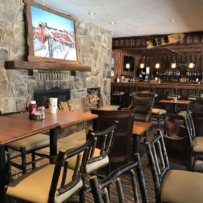 restaurant inside Laurel Mountain Ski Resort