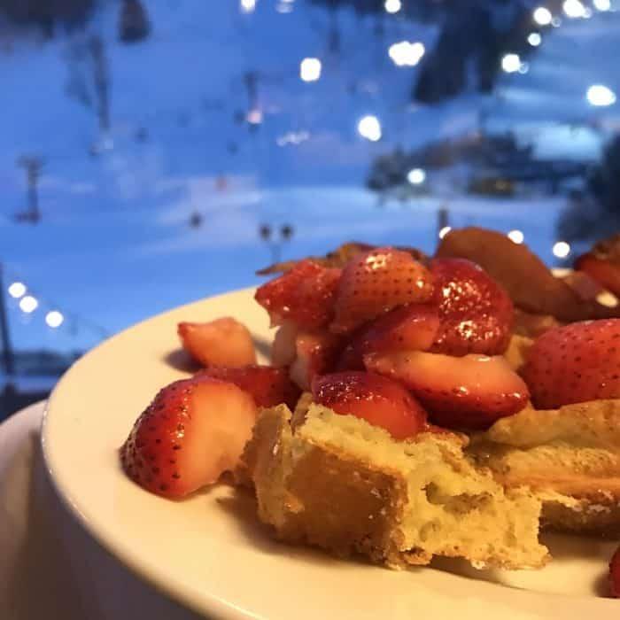 breakfast at Seven Springs Mountain Resort