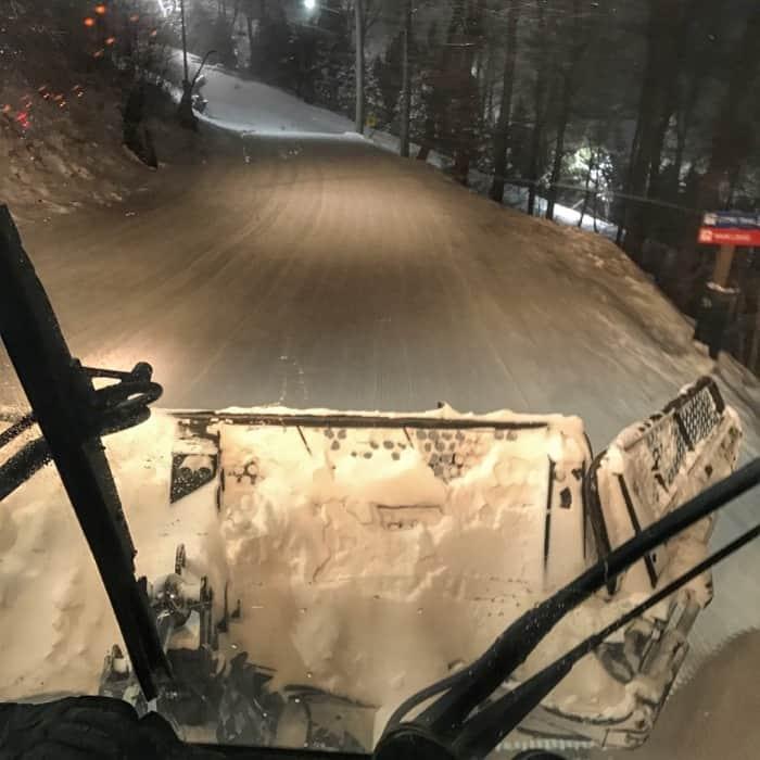 snowcat tour at Seven Springs Mountain Resort
