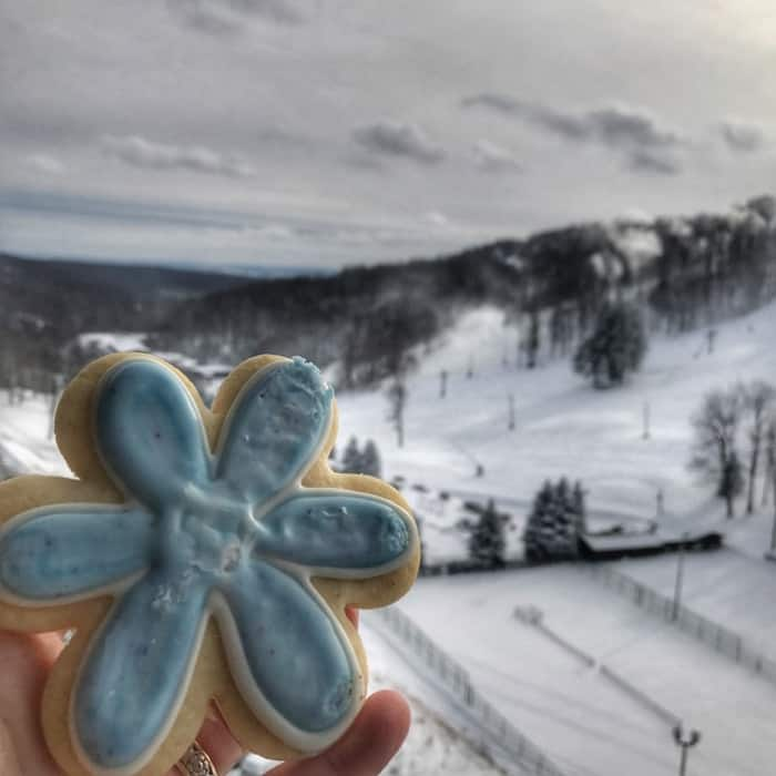 sugar cookie from Seven Springs Mountain Resort