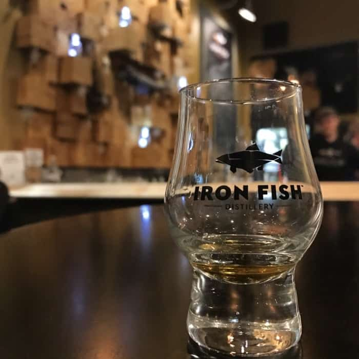5 adventures to try at crystal mountain adventure mom for Iron fish distillery