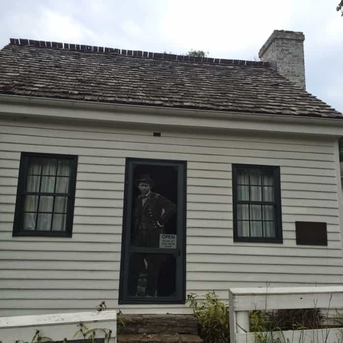 Birthplace of U.S. President Ulysses S. Grant in Ohio