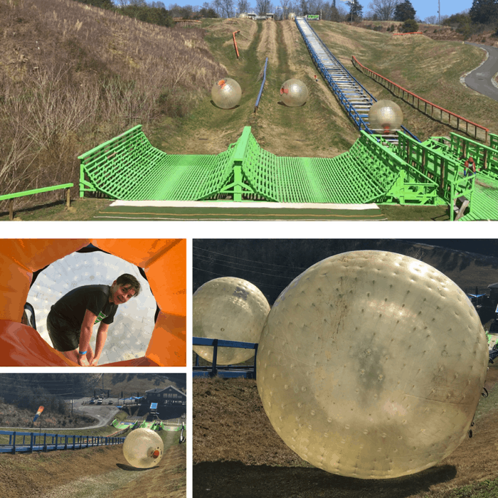 Outdoor Gravity Park Zorbing