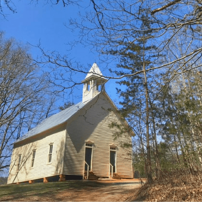 Primitive Baptist Church on the Cades Cove loop