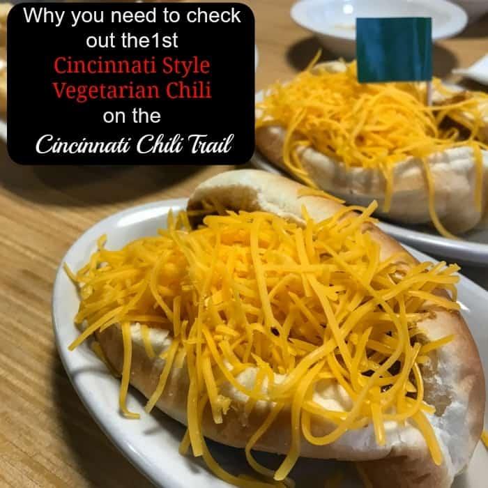 Cincinnati Style Vegetarian Chili