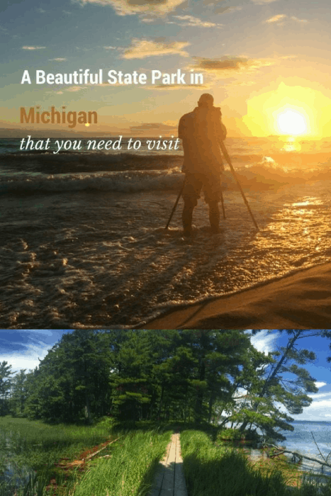 Ludington State Park in Michigan