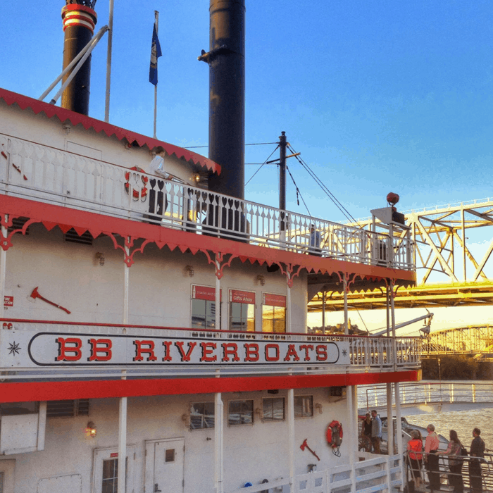 BB Riverboats scenic tour