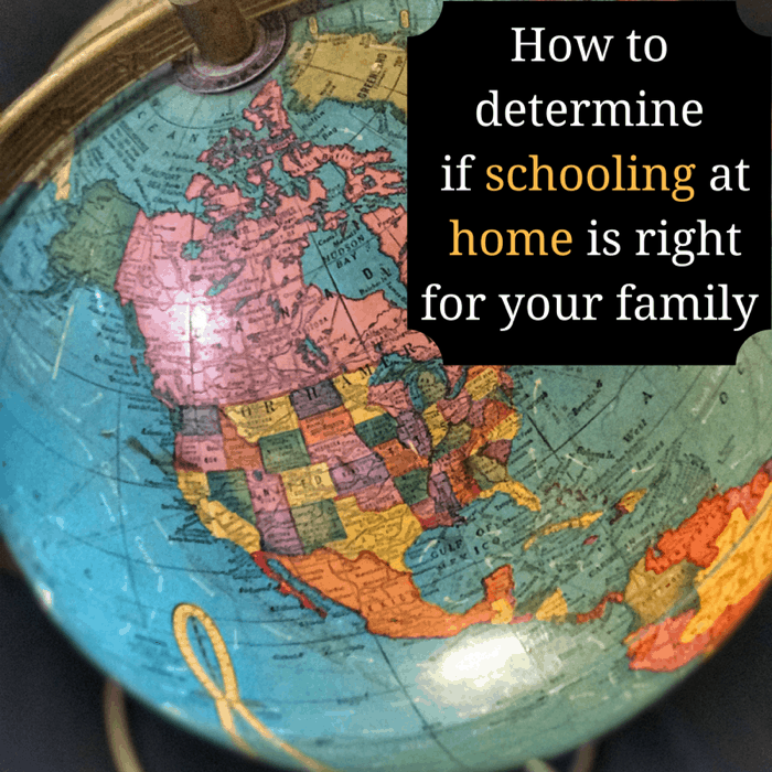 How to determine if schooling at home is right for your family