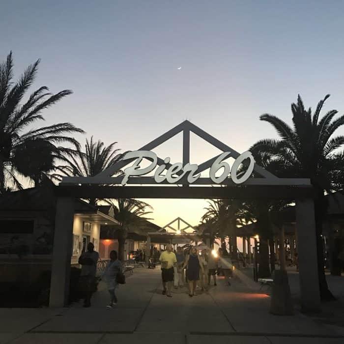 Pier 60 at night