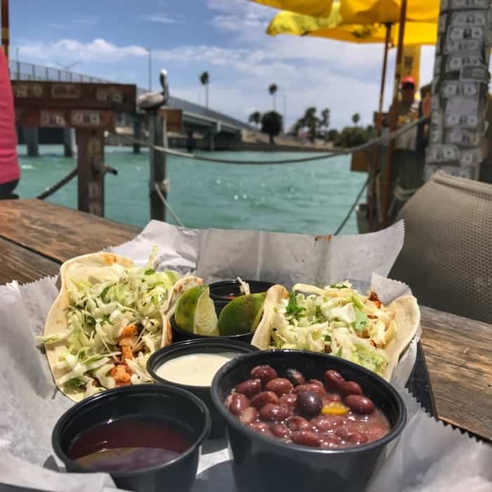 Fish Tacos at The Bait House in Clearwater, FL
