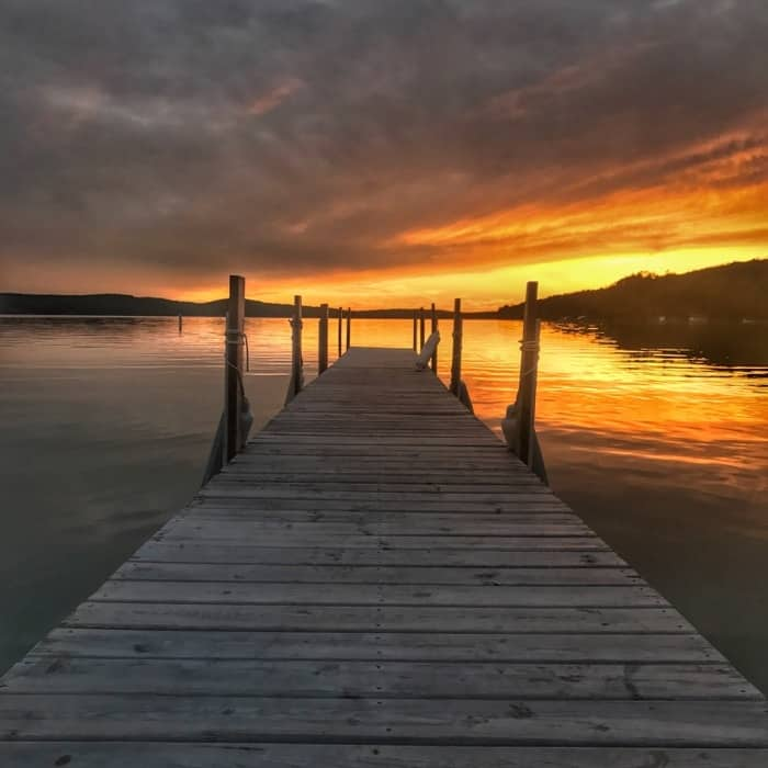 Walloon Lake in Michigan