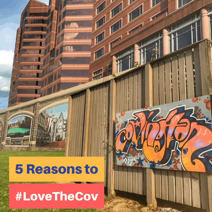 5 Reasons to #LoveTheCov