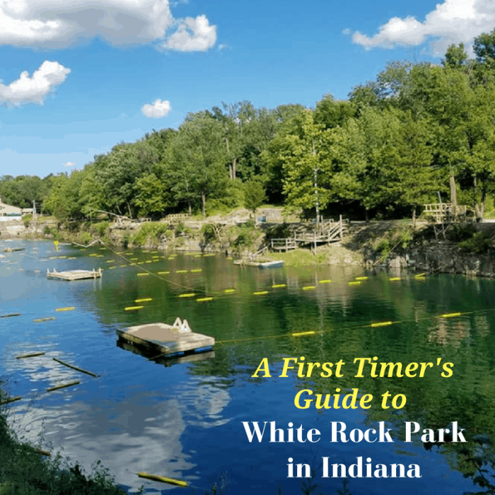A First Timer's Guide to White Rock Park in Indiana, IN