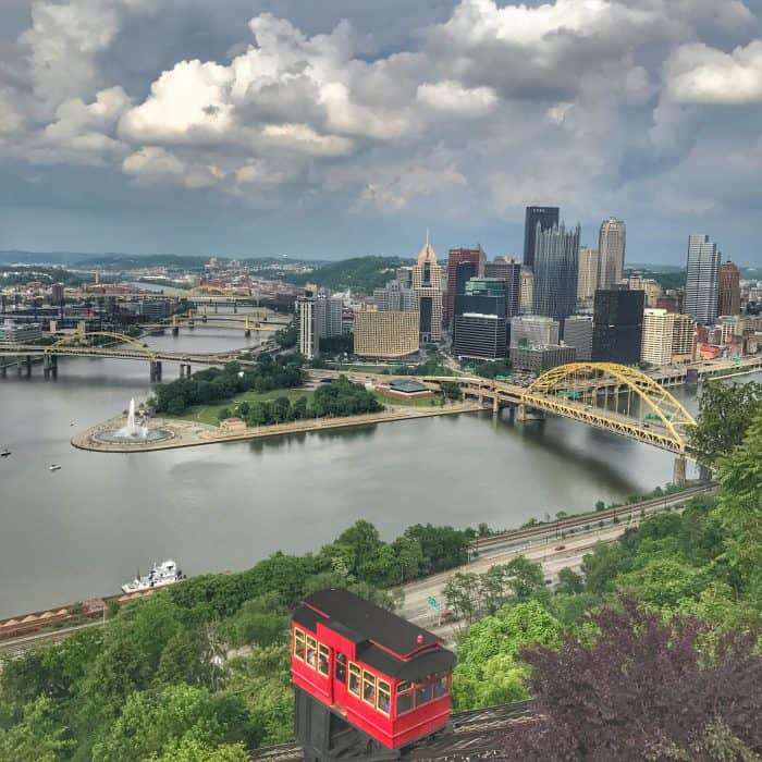 Duquesne Incline in Pittsburgh, PA