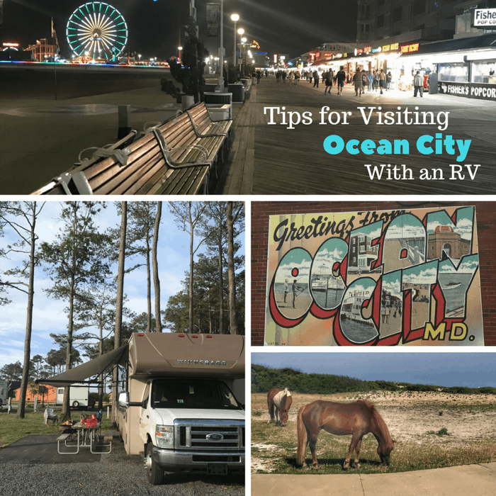 Tips for Visiting Ocean City Maryland with an RV