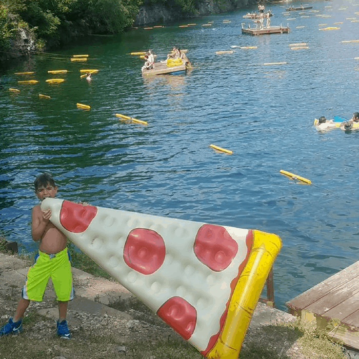 Personal floats allowed at White Rock Park in Indiana, IN