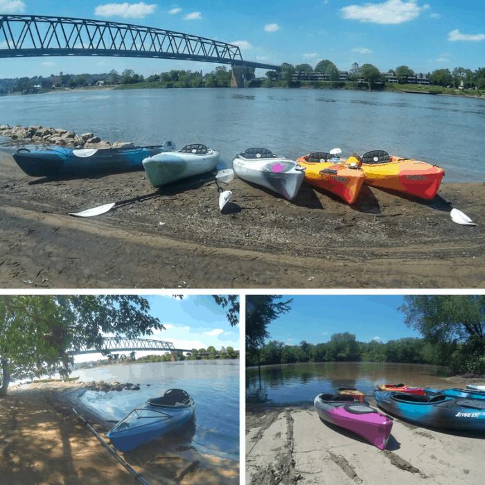 kayak tour with Marietta adventure company