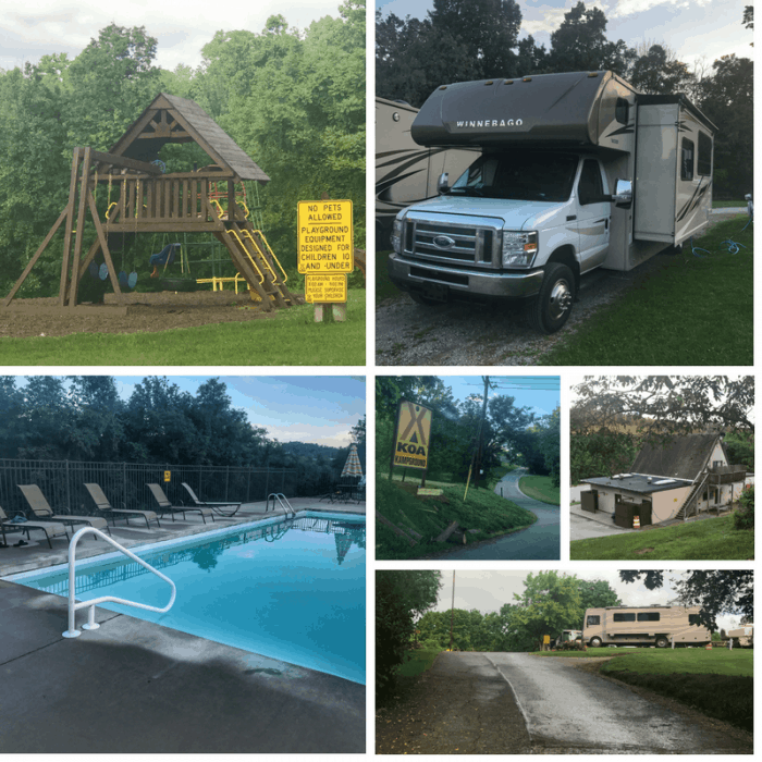 Washington/ Pittsburgh SW KOA campground
