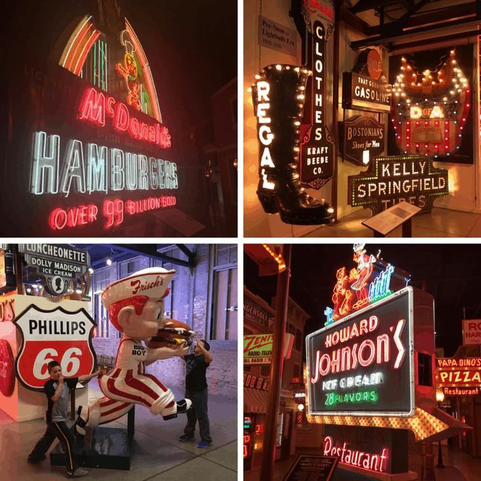 American Sign Museum in Cincinnati Ohio