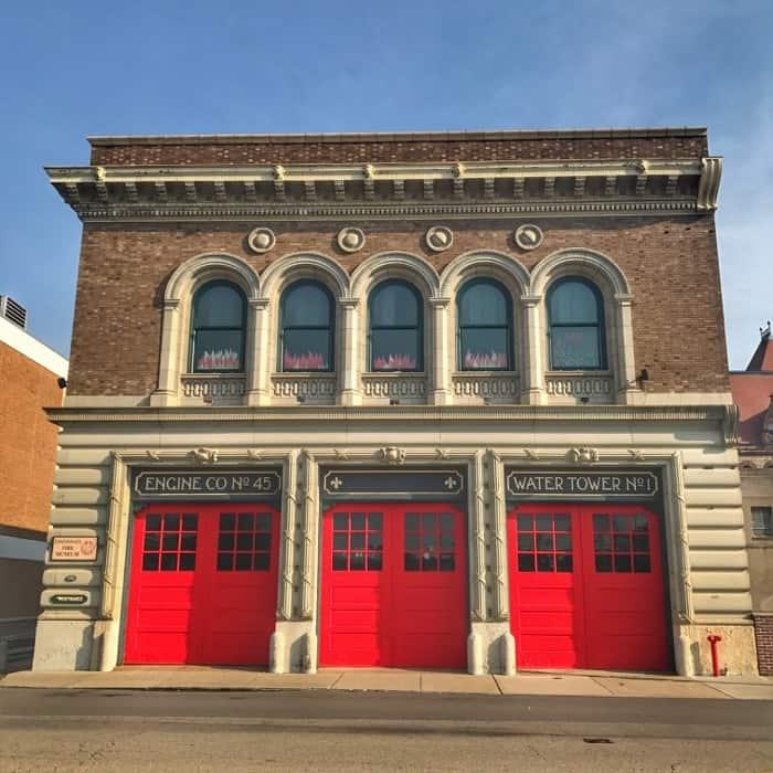 Cincinnati Fire Museum downtown Cincinnati